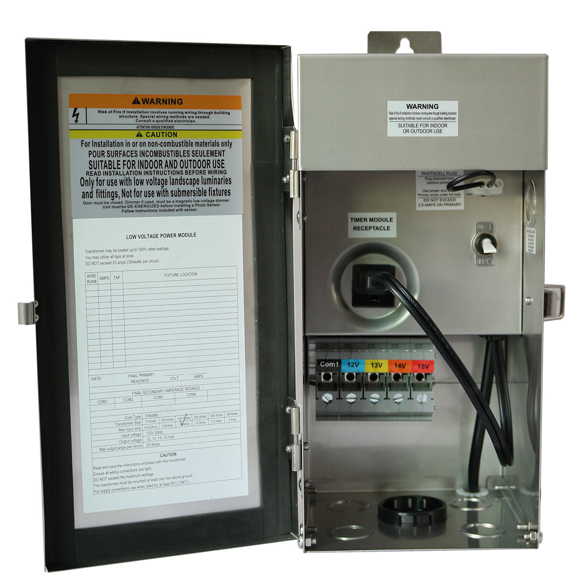 Lm 4336 150 Watt Transformer Lume Outdoor Lighting